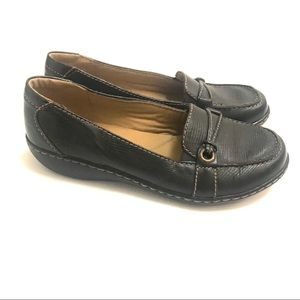 Clarks Ashland Bendable Black Ice Loafer